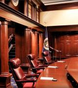 Patent Law Courtroom